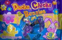 Ducks, Chicks and Bunnies Easter Candy