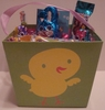 Easter Basket Filled With Chocolate
