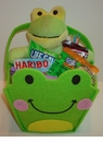 Frog Easter Basket For Kids