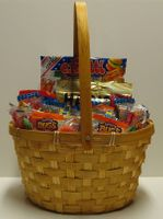 Gummy Candy Gift Basket