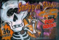 Snappin Skulls Chocolate Candy Discontinued