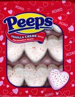 Heart Shaped Peeps - Vanilla Creme