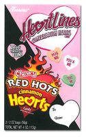 Heartlines Conversation Hearts and Chewy Red Hots Hearts
