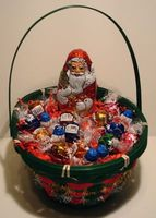 Lindt Lindor Chocolate Candy Gift Basket