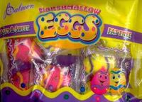 Marshmallow Easter Eggs Candy