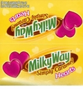 Milky Way Simply Caramel Hearts