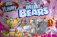 Mr. Yummy Mini Bears