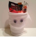 Mummy Halloween Party Favor Cups