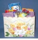 Nostalgic Candy Gift - Floral Gift Box
