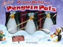 Penguin Pals Peanut Butter Filled Chocolate Christmas Candy