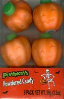 Plastic Pumpkins Filled With Halloween Candy