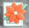 Poinsettia Chirstmas Tissue Box - Plastic Canvas