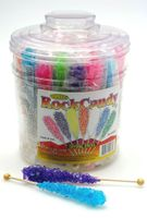 Rock Candy Stick Suckers