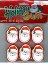 Santa Bubble Gum - Stocking Stuffers