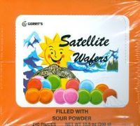 Satellite Wafers - Sour Flying Saucer Candy