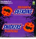 Snickers Pumpkins