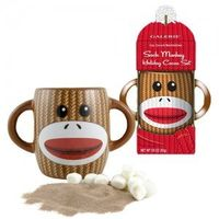 Sock Monkey Mug With Hot Chocolate Mix