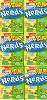 Sour Nerds Wonka Candy : 24 Pack