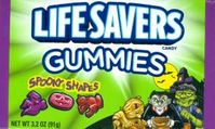 Spooky Shapes Gummy Lifesavers