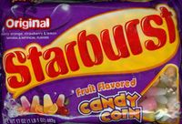 Starburst Fruit Flavored Candy Corn