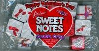 Sweet Notes Valentine's Day Candy