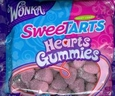 Sweet Tarts Gummy Hearts