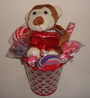 Valentine's Day Candy Gift Baskets