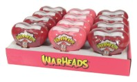 Warheads Sour Candy Filled Hearts