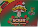 Warheads Sour Chewy Cubes Christmas Candy