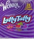 Wonka Laffy  Taffy  Bars  -  Stretchy and Tangy Taffy