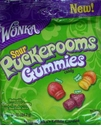 Wonka Puckerooms Sour Gummy Candy