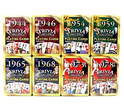 80th Birthday Deck of Trivia Cards for 1939