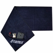 Gym, Fitness & Sports Microfiber Towel with Zipper Pocket