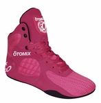 Women's Pink & Black Stingray Bodybuilding Weightlifting Shoes
