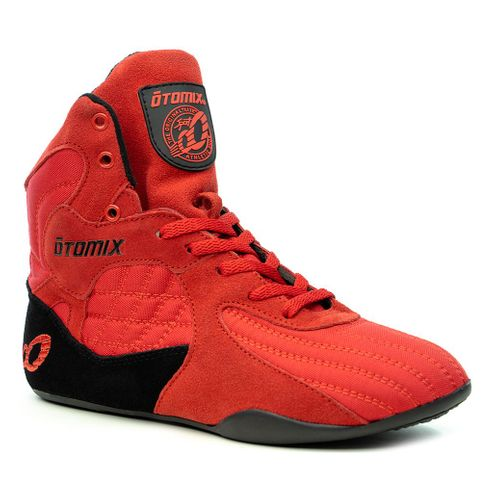 Lady's Red Stingray Bodybuilding Weightlifting Shoes