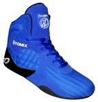 Female Royal Blue Stingray Bodybuilding Weightlifting Shoes