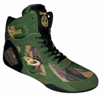 Female Camo Ninja Warrior Bodybuilding, Wrestling & Boxing Shoe