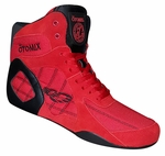 Women's Red Ninja Warrior Bodybuilding, Wrestling & Boxing Shoe