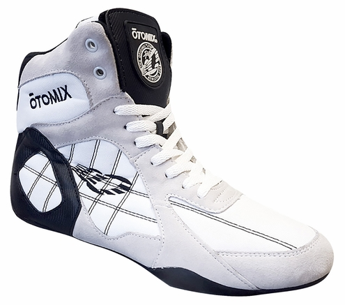 Women's White Weightlifting Bodybuilding, Wrestling & Gym Shoe