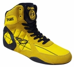Lady's Yellow Ninja Warrior Bodybuilding, Wrestling & Boxing Shoe