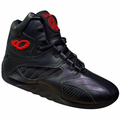 Female Black Carbonite Ultimate Trainer Bodybuilding Gym Shoes
