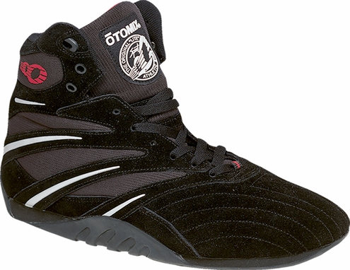 CLOSEOUT Lady's Extreme Trainer Pro black Suede Gym Shoe