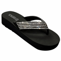 Female Competition Comfort Rhinestone Sandals Flip-Flops