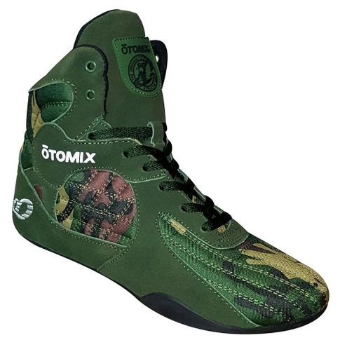 Otomix GREEN Camouflage Weightlifting Shoes FINAL SALE
