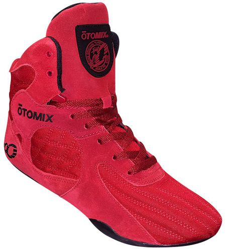 Solid Red Bodybuilding MMA Shoe!