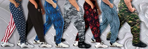 Weightlifting Muscle Baggy Workout Pants -- Gym Wear
