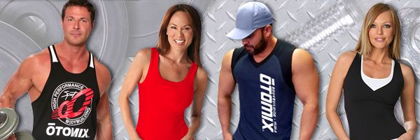 Otomix Womens Fitness Tanks and Gym Tee Shirts