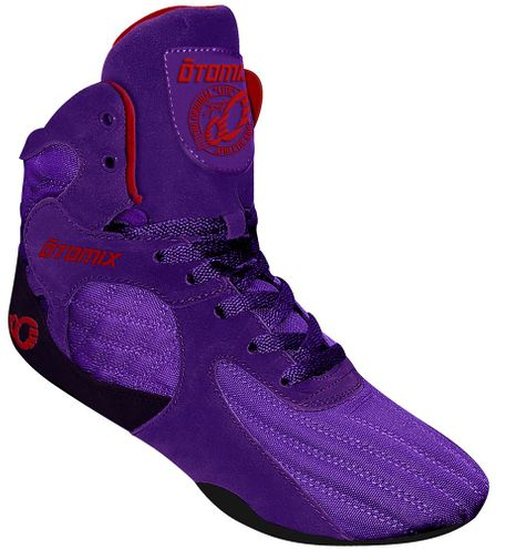 Purple Stingray Bodybuilding Weightlifting Powerlifting MMA Shoe