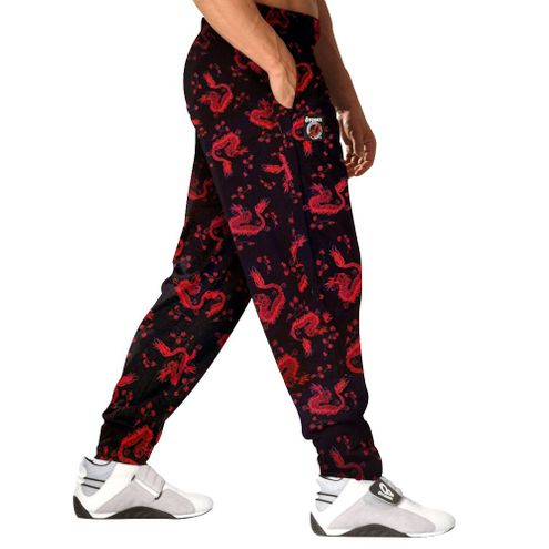 Red Dragon Baggy Gym Workout Pant