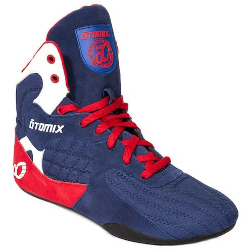 Weightlifting Shoes Red, White & Blue Stingray-No Coupon-Final Sale